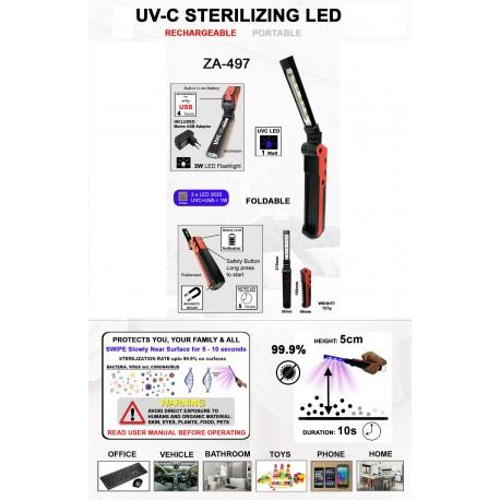UV-C Sterilizing LED