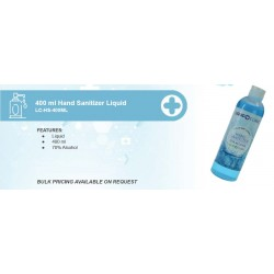 400 ml Hand Sanitizer Liquid