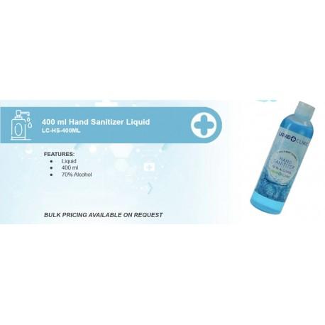 400 ml Hand Sanitizer Liquid