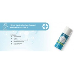 150 ml Hand & Surface Aerosol Sanitizer