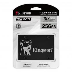 """Kingston 256G SSD KC600 SATA3 2.5"""""""
