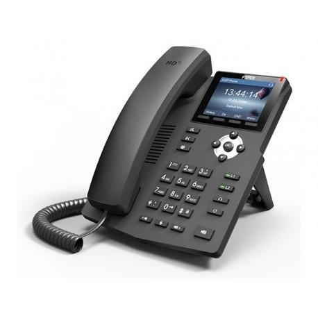 Fanvil 2SIP Gigabit Colour VoIP Phone No PSU | X3G