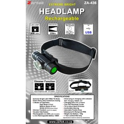 Rechargeable Headlamp LED
