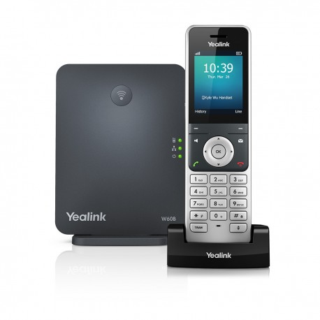 Yealink High-Performance IP DECT Phone System W60P